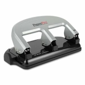 Paperpro Manual Hole Punch 3 Punch Head s 40 Sheet Capacity 9 32