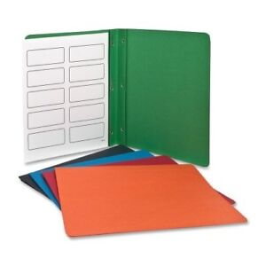 Oxford Twin pocket Folders With Fasteners Letter 8 50 X 11 3 Fastener