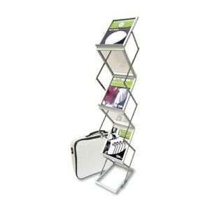 Deflect o Collapsible Literature Floor Stand 59 Height X 10 9 Width X 14 5