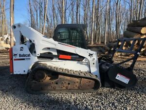 2012 Bobcat T870 With Bobcat Frc60 Forestry Mulcher 947