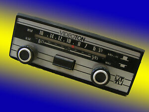 Old Classic Car Radio Radio Videophone Type Rd 03 R6 Youngtimer
