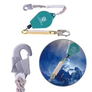 Hot High altitude Operations Safety Rope Webbing Lanyard Fall Protection New