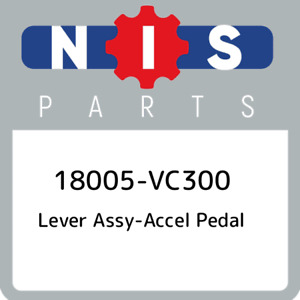 18005 Vc300 Nissan Lever Assy Accel Pedal 18005vc300 New Genuine Oem Part