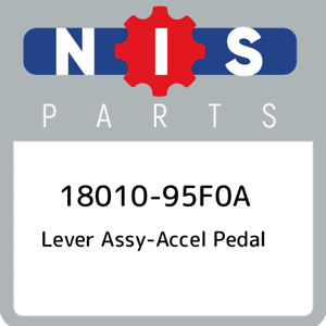 18010 95f0a Nissan Lever Assy Accel Pedal 1801095f0a New Genuine Oem Part