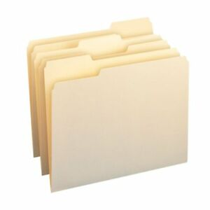 Smead 10338 Manila File Folders With Antimicrobial Product Protection Letter