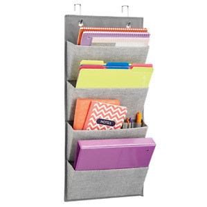 Wall Hanging File Sorter Cabinet Organizer Holder Office School Command Center