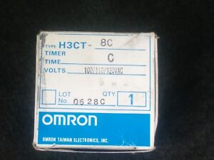 Omron H3ct 8c Timer Relay
