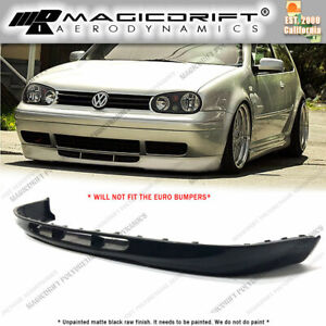 For 99 05 Vw Golf Mk4 Mkiv Oe 20ae 25th 337 Style Front Bumper Lip Lower Valance