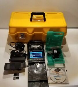 Fujikura Fsm 12s Fusion Splicer Tested Only 268 Total Arc Count