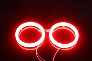 2pcs 80mm Cotton Angel Eyes Halo Ring Red Smd Light Lamp Led Cover G191