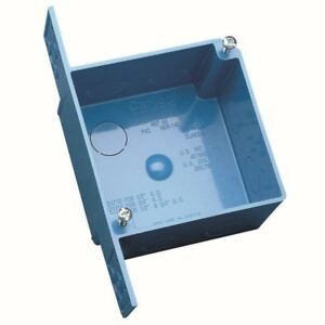 4 In Pvc Square Ent Outlet Switch Box 10 Pack Electrical Non Metallic Tubing