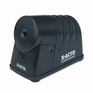X acto Powerhouse Electric Pencil Sharpener Desktop 1 Hole s 6 epi1799