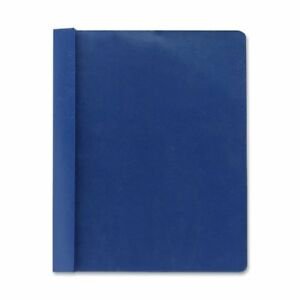 Smead 87455 Dark Blue Clear Front Report Covers Letter 8 50 X 11 3