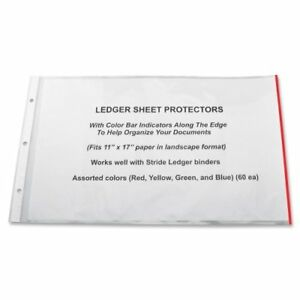 Stride Semi clear Sheet Protectors 20 Sheet Capacity 11 X 17 stw61400