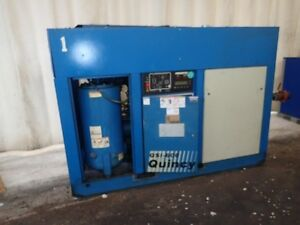 Quincy Qsi 600 125 Hp Rotary Screw Air Compressor 1yr Airend Warranty