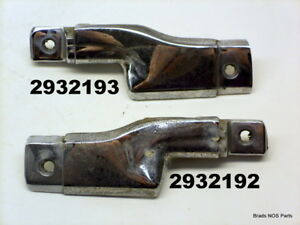 Good Used Mopar 1968 1970 Plymouth Gtx Coronet Convertible Qtr Belt Mldgs Pair