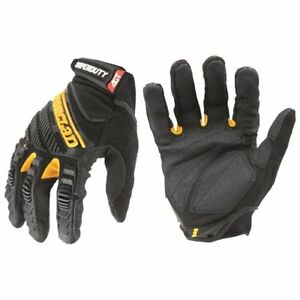 Ironclad Sdg204l Superduty Gloves Large Black 1 Pair