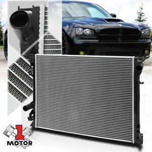 Aluminum Radiator Oe Replacement For 05 08 300 charger magnum challenger Srt8