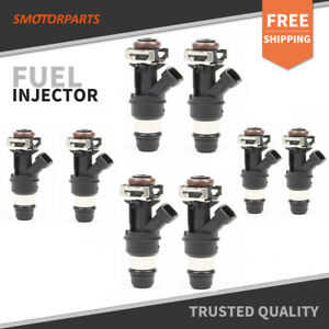 8pcs 440cc Fuel Injector For Chevy Gmc Marine Silverado 8 1l 25176061 2001 2004