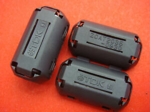 50pcs Tdk Emi Filter Ferrite Core 9mm Clip On Brand New