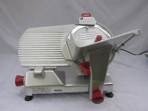 Berkel 827a 12 Commercial Meat Slicer With Self Sharpening Stone System