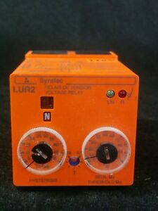 Syrelec Lur2 Voltage Control Relay 110v