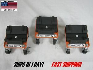Rol A Blade Snow Plow Caster Dollie Set Works For Many Applications