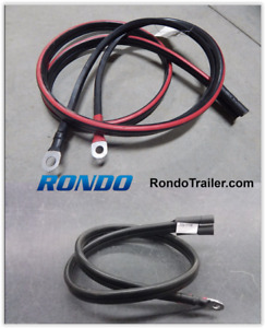 Hiniker Snowplow Power Cable Truck 6 Snow Plow 3 Battery Wire Jumper Cables