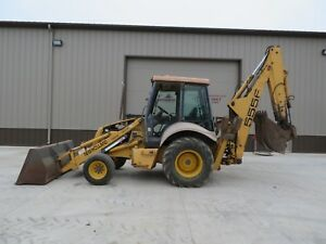 New Holland 555e Backhoe Loader Tractor Ext Hoe Case Bobcat Iowa