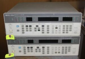 Used Hp 8657a Signal Generator 0 1 1040mhz Option 002