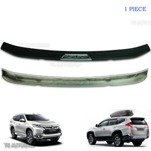 For Mitsubishi Pajero Sport Suv Trim Rear Tailgate Bumper Guards Cover 2015 2017