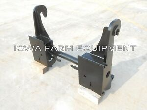 Telehandler Skidsteer Quick Attach Adapter Jcb Q fit 504b 506 508 509 42 530