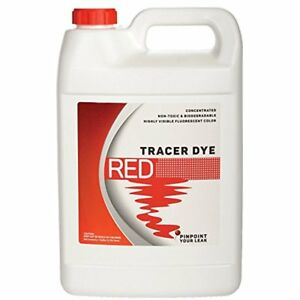 Concentrated Red Air Conditioning Line Repair Tools Tracer Dye One Gallon 128