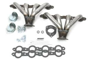 Patriot Tight Tuck Street Rod Headers Block Hugger Natural 1 5 8 Primaries H8014