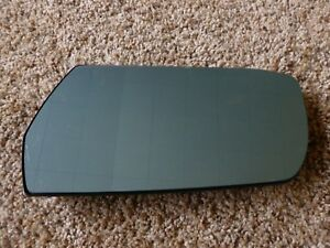 2003 2007 Cadillac Cts Mirror Glass Heated Left Drivers Side Blue Tint Oem
