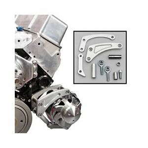 Summit Racing Billet Aluminum Sbc Chevy 350 Short Pump Alternator Bracket 2005