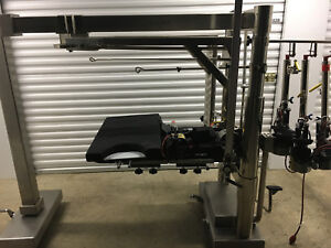 Schaerer Mayfield Chick 10800 Imagable Orthopedic Table W 5 Fraction Cuffs