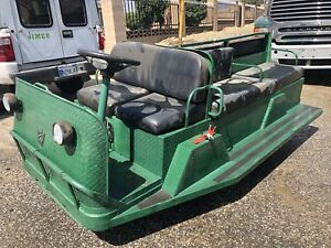 2008 Taylor Dunn Tram 10 Person 820 Hours New Batteries Sept 2018