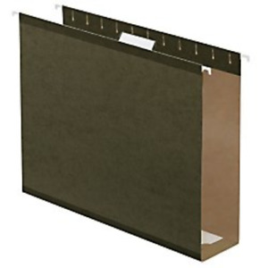 Office Depot Box Bottom Hanging File Folders 2in Expansion Legal Size Green