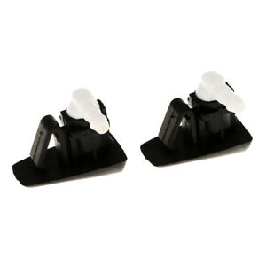 1 Pair Windshield Wiper Water Spray Jet Washer Nozzle For Cadillac Cts Srx