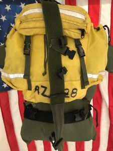 Fss Vintage Wild Land Firefighting Field Pack New Style Harness And Belt