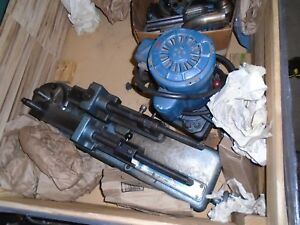 Parker 632 Hydraulic Tubing Bender With Pump And A Bunch Of Dies