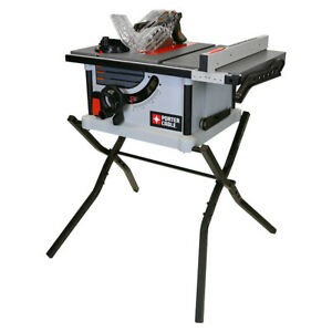 PORTER-CABLE 15-Amp 10-in Portable Carbide-Tipped Table Saw Powerful Tool NEW!