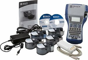 Brady Bmp41 Printer Facility Id Starter Kit
