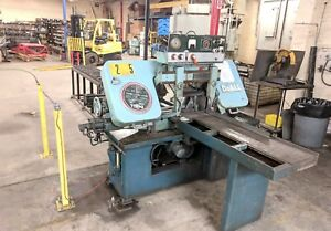 Cnc Saw Do all C 70 Automatic Bandsaw With Auto Feed Unit Great Saw