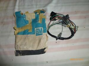 Nos Gm 1964 1966 Chevy Pickup Truck Dash Harness W Tach And Gauges 2985502