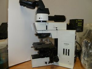 Olympus Bx50 Dic Transmitted Reflected Light Microscope