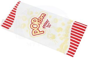 Popcorn Bags Small 1 Oz Red Yellow By Mt Products 100 Pieces
