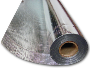 500sqft 4x125 Pure Aluminum Perforated Radiant Barrier Double Sided Attic Foil