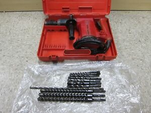 Hilti Te22 Corded Electric Rotary Hammer Drill W case Bits